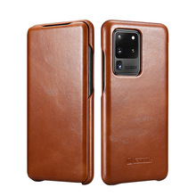 for samsung galaxy s10 5g case rubber robot armor hard back phone cover for samsung galaxy s10 5g case for samsung galaxy s10 5g Genuine Leather Flip Case for Samsung Galaxy S20 5G Luxury Phone S20 Ultra 5G S10  S10 Plus Cases Cover