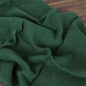 Image 4 - Paño de algodón y lino con textura plisada, 45x65cm, para comida horneada, mesa, sesión de fotos, accesorios de fondo para fotografía
