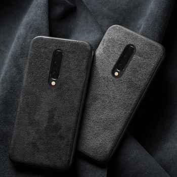 Genuine Cow Suede Leather case for Oneplus 7 pro Nord 8 Pro 6T 6 7t pro 8T 360 Full protective cover for One plus 7 5 5t 7T 8Pro
