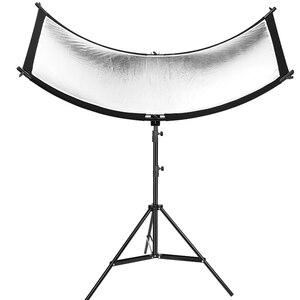 Image 3 - U образный отражатель для фотографии 160*55 см 3 в 1, отражающий светильник, мягкая ткань, диффузор для камеры, видеостудии, фотографии