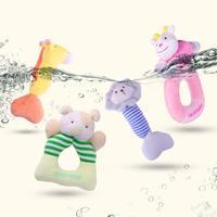 Набор мягких игрушек-погремушек (4 шт)  Цена: 1357 руб. ($17.08) | -158 руб. купон(ы) Посмотреть:   ???? В комплекте четыре погремушки в виде животных, выполненные из ткани разных фактур. Звук приятный, не громкий для младенца в самый раз.  Размер игрушек