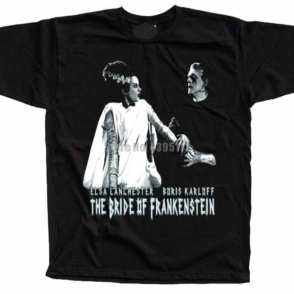 The Bride Of Frankenstein Movie Unisex Ahegao T-Shirt Branded Tshirt Carnival T-Shirt Clothes Tshirts Gift For A Man Csvvhp image
