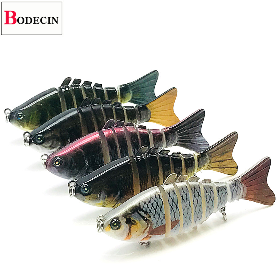6 Segments Jointed/Sinking/Jerkbait Minnow Fake/Hard/Artificial Bait For Fishing Tackle/Baubles/Crankbait/Wobbler/Lure Swimbait