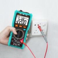 Mileseey ncv multímetro digital automático variando ac/dc medidor de tensão flash luz traseira grande tela|Multímetros| |  -