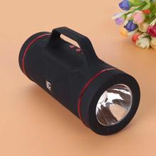 G33 Outdoor Riding Bluetooth Speaker With Flashlight Portable Wireless Speakers 1200Mah Deep Bass