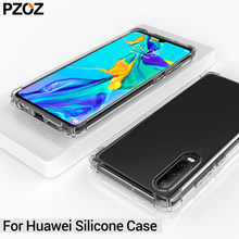 PZOZ huawei mate 20 lite 10 p30 pro case cover honor 8x max huawei mate 10 Silicone Protective Shell hauwei mate 9 case honor 10(China)