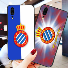 Yinuoda Phone Case For RCD Espanyol FCCase Huawei P9 lite P10 Shell DIY Case For P8 lite 2017 mate 10 P30 lite NOVA lite mate 20 real sociedad rcd espanyol