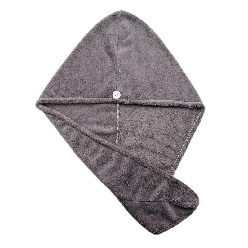 1pcs Microfiber Bath Towel Cap With Super Absorption For Woman Use