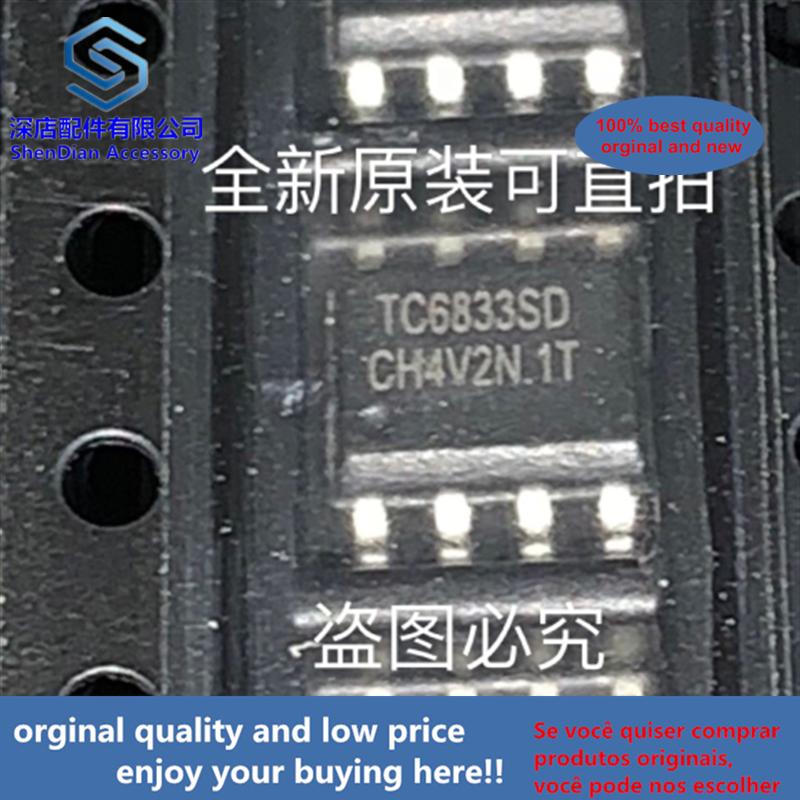 10-20pcs 100% Orginal And New TC6833SD FM SOP8 TC6833 SOP Best Qualtiy