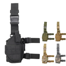 Military Tornado Leg Holster Right Hand Nylon Tactical Gun Case hunting airsoft Universal Pistol Gun Thigh Holster Glock Beretta