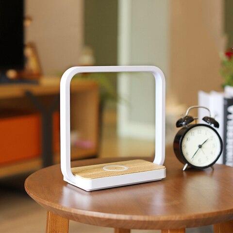 lampada de mesa de cabeceira lampada de mesa de noite lampada de mesa inteligente telefone