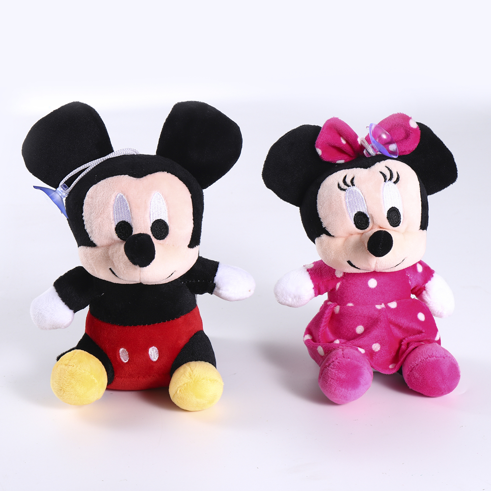2020 Hot Sale 18-20cm High Quality Stuffed Mickey&Minnie Mouse Plush Toy Dolls Birthday Wedding Gifts For Kids Baby Children