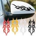 Модифицированная наклейка для автомобиля, наклейки с эффектом пламени для автомобиля, наклейки для капота, бампера, зеркала заднего вида, ч...