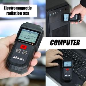 Image 3 - KKmoon يده الرقمية LCD EMF متر اختبار الإشعاع الكهرومغناطيسي المجال الكهربائي المجال المغناطيسي قياس الجرعات الكاشف