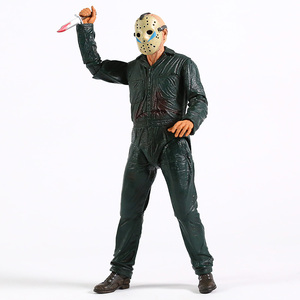 Image 5 - NECA Friday the 13th Jason Ultimate Part 5 Roy Burns Action Figure Horror Halloween Toy Doll Gift
