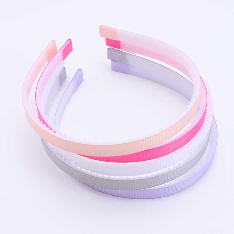 5 adet/grup yeni ABS kızlar Hairbands çocuk adım diş Headbands çocuklar moda saç aksesuarları hediye