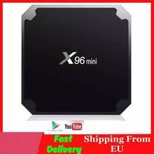 X96 mini Smart تي في بوكس أندرويد Amlogic S905W رباعية النواة 4K مشغل الوسائط 2.4GHz واي فاي 2GB 16GB 1G/8G X96mini أندرويد 7.1 مجموعة صندوق
