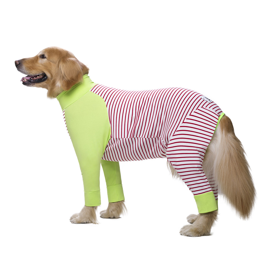 Striped Large dog clothes (4)