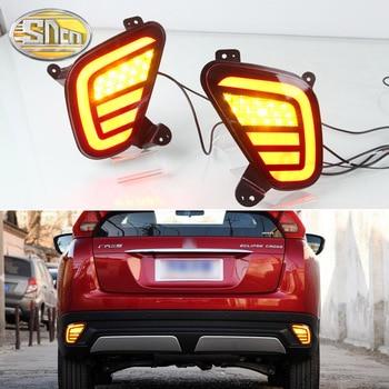 Multi-functions LED Rear Bumper Light Fog Lamp Brake Light Turn Signal Reverse Light For Mitsubishi Eclipse Cross 2018 2019