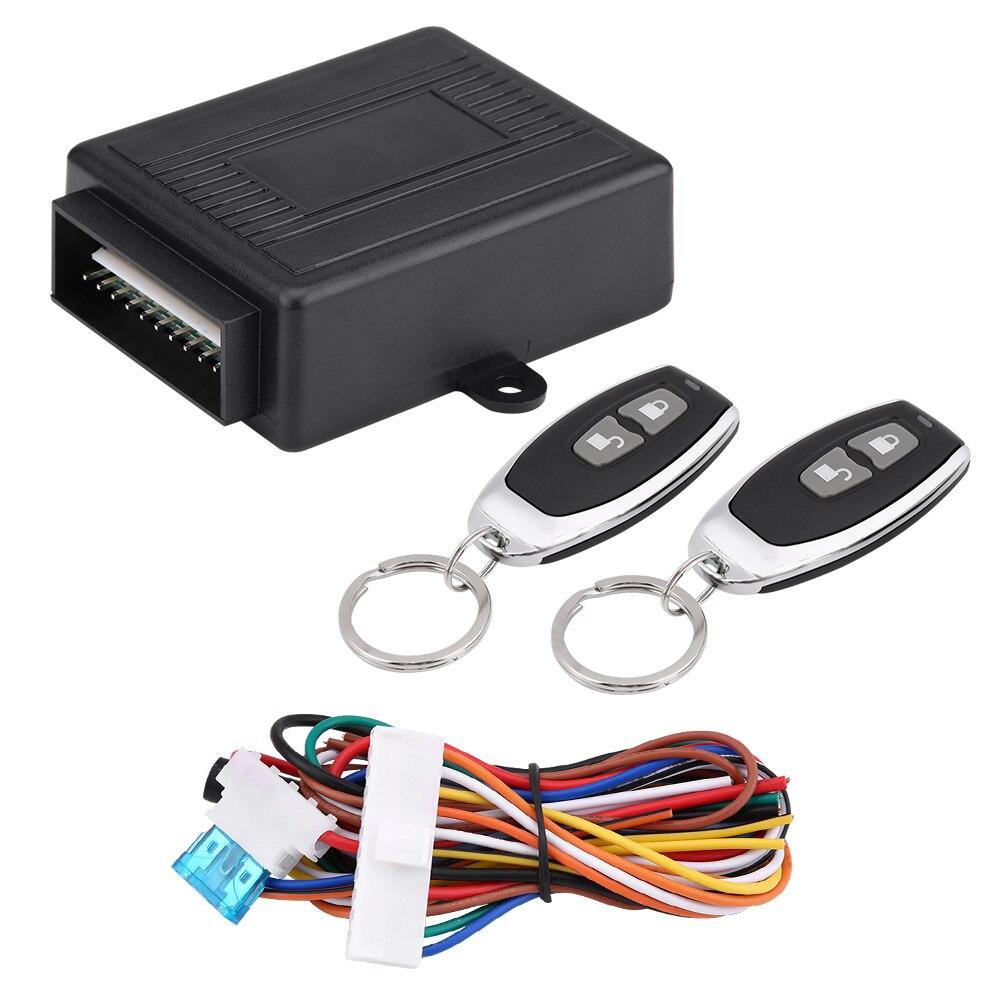 12 v±2v LB-402/L248 sistema de entrada sin llave bloqueo Central de Control remoto Kit ajuste Universal para la mayoría de vehículos Cargador USB para coche de carga rápida 3,0 4,0 Universal 18W carga rápida en coche 3 puertos cargador de teléfono móvil para samsung s10 iphone 11 7