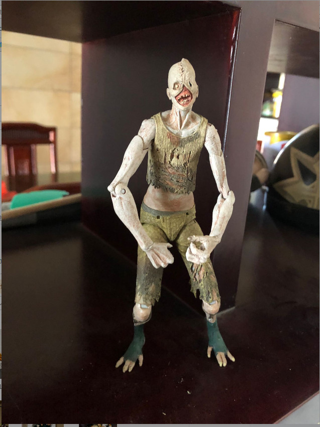 Original NECA Garage Kit 7'' BioShock Dead Walker Joints Doll Action Figure Collectible Model Toy For Gifts