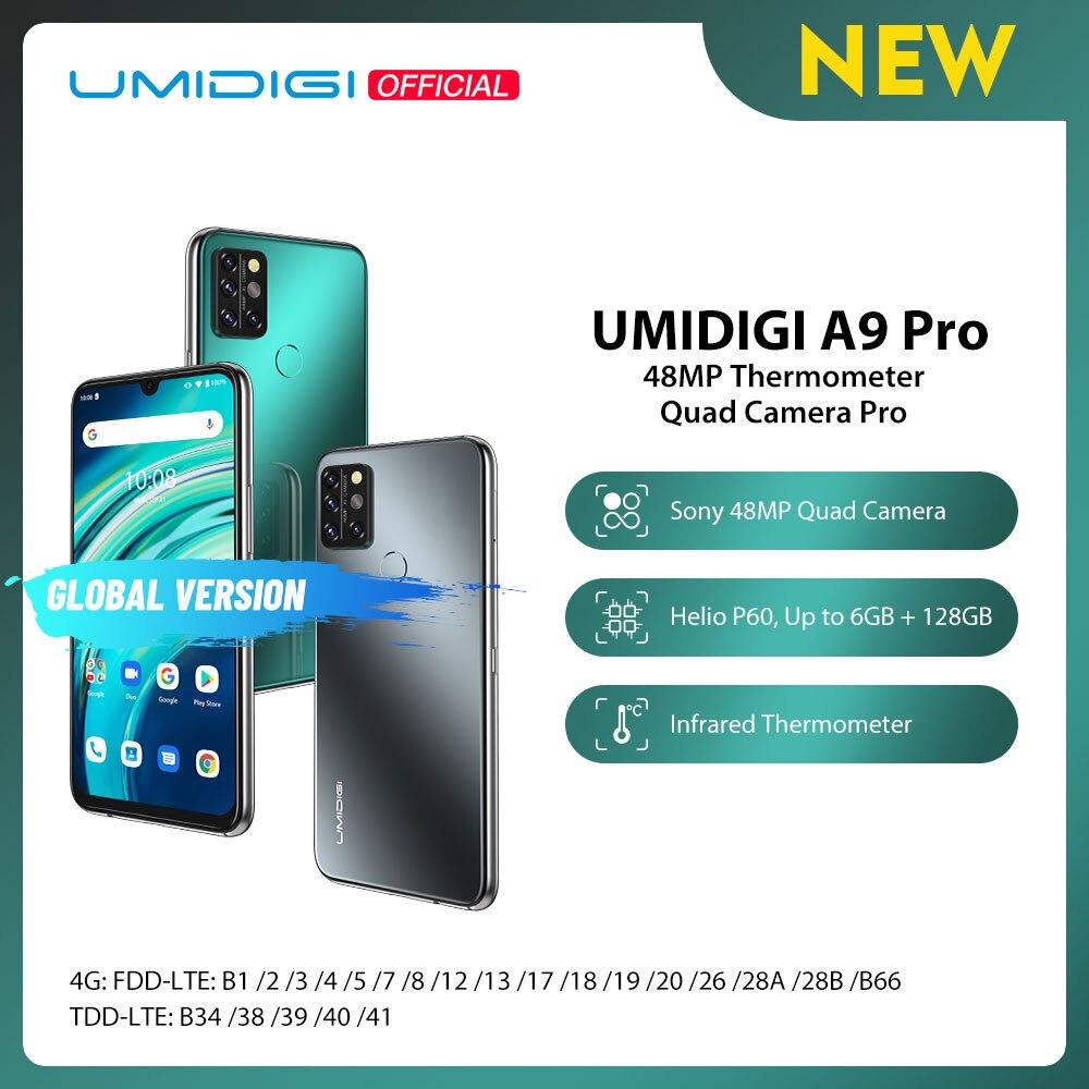 "UMIDIGI A9 Pro 32/48MP Quad Camera 24MP Selfie Camera 6GB 128GB Helio P60 Octa Core 6.3"" FHD+ Global Version Cellphone Pre sale|Cellphones| - AliExpress"