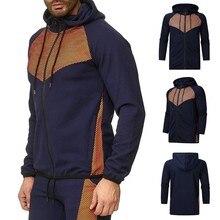 Printed Autumn Winter Casual Bomber Sport Tennis Jacket Men Jaqueta Masculina Mens Jackets Coat Hoodies Sweatshirt