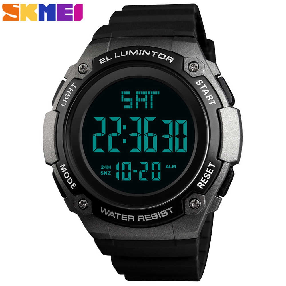 SKMEI 1346 Mens Watches Waterproof Outdoor Sport Watch Men Fashion Clock Male Casual Digital Men Wristwatches Relojes