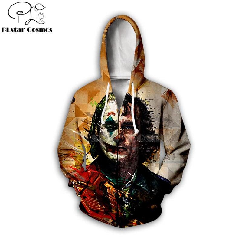PLstar Cosmos 2019 dc haha joker 3d Hoodies Hooded Sweatshirt shirt Autumn Winter long sleeve Harajuku Halloween streetwear 5 in Hoodies amp Sweatshirts from Men 39 s Clothing