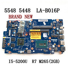 Laptop Motherboard Dell Inspiron Mainboard I5-5200U LA-B016P NEW FOR 5547/5447/5448/5548
