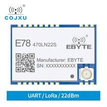 Asr6501 lorawan 433 mhz asr6501 tcxo cdebyte E78-470LN22S módulo de transmissão do espectro comunicação longa distância módulo de baixa potência
