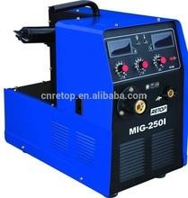 цена на high quality CE automatic protection arc mig 200 mig welding