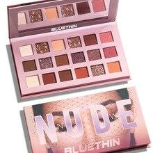 Glitter Eyeshadow Pallete Fard Nude Brillantes Cosmetics Sombras Profesional Matte Paupieres