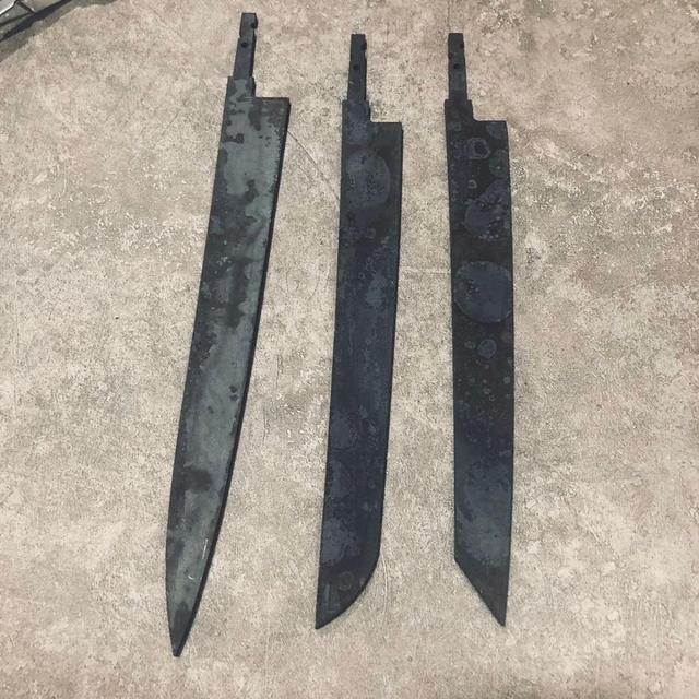 Diy нож пустой ручной работы Домашний с ручкой японский янагиба