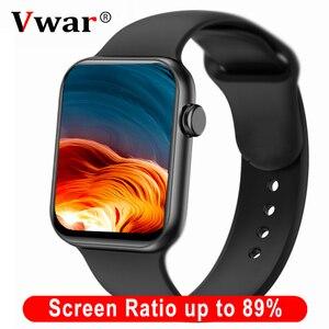 Умные часы Vwar Max, 1,78 дюйма, 385*320, HD экран, IP68, водонепроницаемый, монитор сердечного ритма, спортивные часы IWO для iPhone, Xiaomi