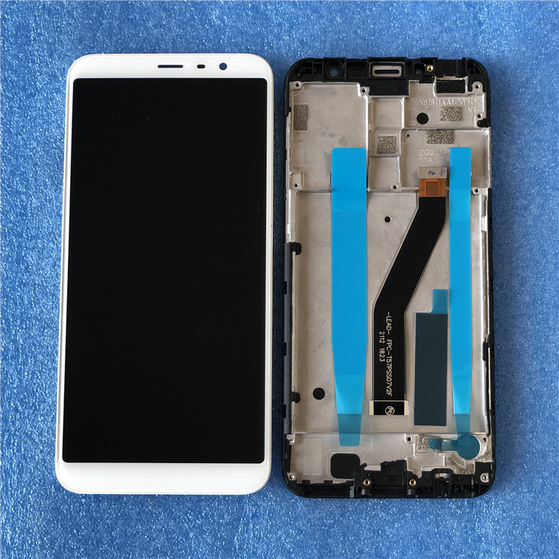 5.7 inch With Frame Lcd For mei zu <font><b>M6T</b></font> Lcd Meilan 6T M811Q <font><b>M811H</b></font> Lcd Meilan <font><b>M6T</b></font> LCD Touch Screen Digitizer Assembly with Tools image