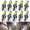 10x T10 LED Auto Led Innen Licht Stamm Lampe Xenon 6000K 12v W5W 194 Auto Lichter für Honda civic Accord CRV HRV Jazz Fit NC750X