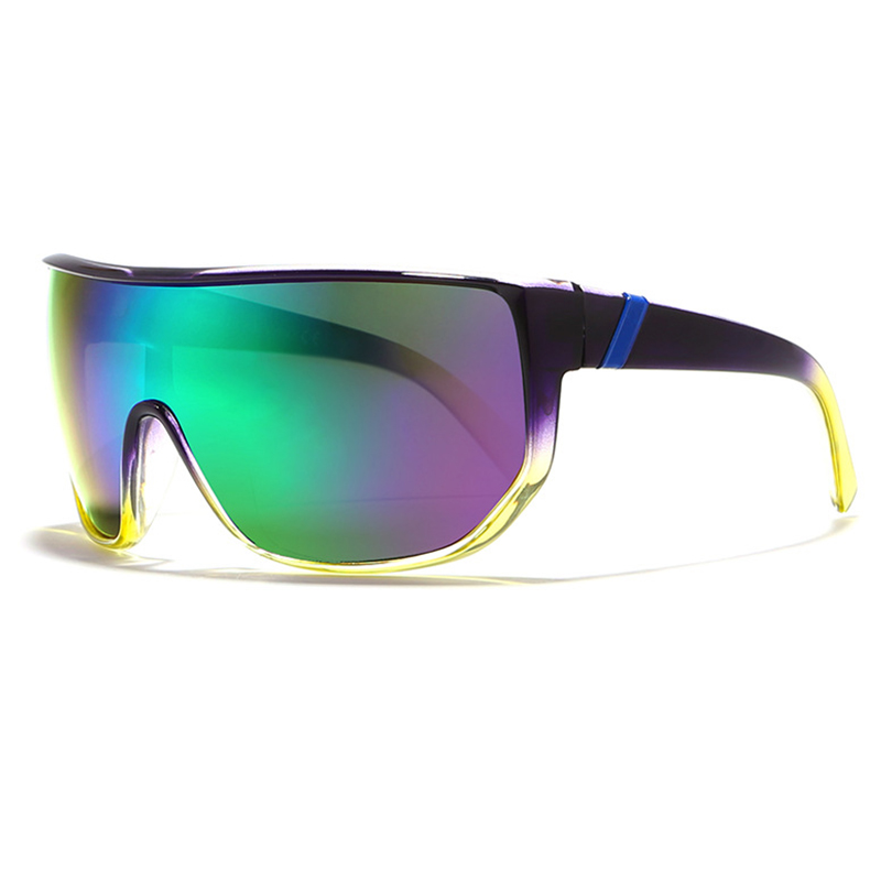 2019 hot cycling glasses racing bicycle Colorful glasses men and women UV 400 sport sunglasses photochromic glasses for cycling in Cycling Eyewear from Sports Entertainment