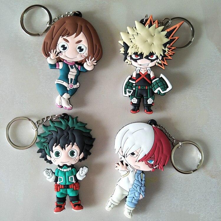 Boku No Hero Academia My Hero Academi Midoriya Izuku Keychain Keyring Cosplay Jewelry Gift