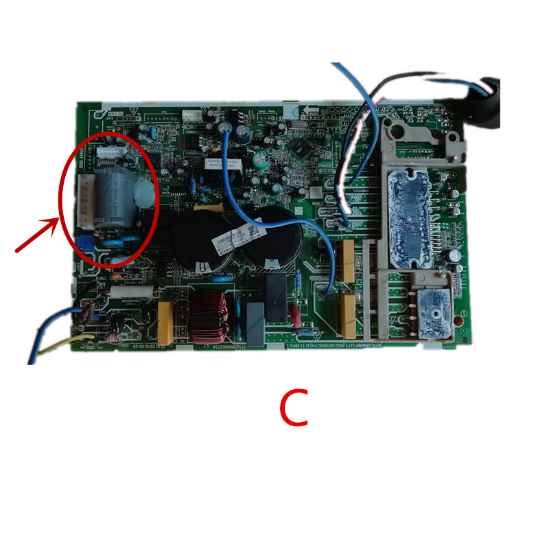 KFR-35W/BP-(311-1502-0515DK-YH) Used Good Working