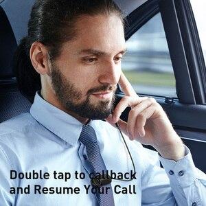 Image 5 - Baseus A06 zestaw słuchawkowy Bluetooth przenośny biznes bezprzewodowy zestaw słuchawkowy zestaw głośnomówiący z klipsem do jazdy samochodem praca dla iPhone