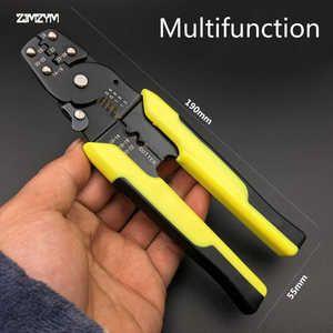 Hot sale High quality Multi functional Cable Wire Stripper Automatic Crimping Tool Peeling Pliers Adjustable Cutter tool