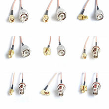 SMA to TNC intercom connection line TNC male and female head to SMA male and female head extension line RG316 jumper feeder