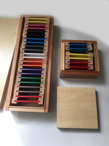 Tablet-Box Educational-Toys Puzzle Montessori Preschool Sensorial-Material Learning-Color
