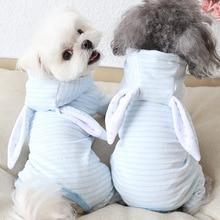 Clothing PUPPY-MALTESE Pajamas Coats Dog-Jumpsuits Pet-Dog-Clothes Dogs Winter Rabbit