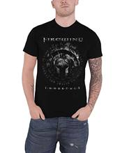 Firewind T Camicia Immortali 1 Banda Logo New Gazzetta Mens Nero(China)