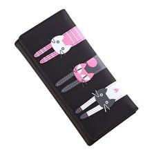 Porte-monnaie en cuir pour femmes, Mini porte-monnaie, chat mignon, motif de dessin animé, porte-monnaie, porte-clés, sac à main, cadeau pour enfants