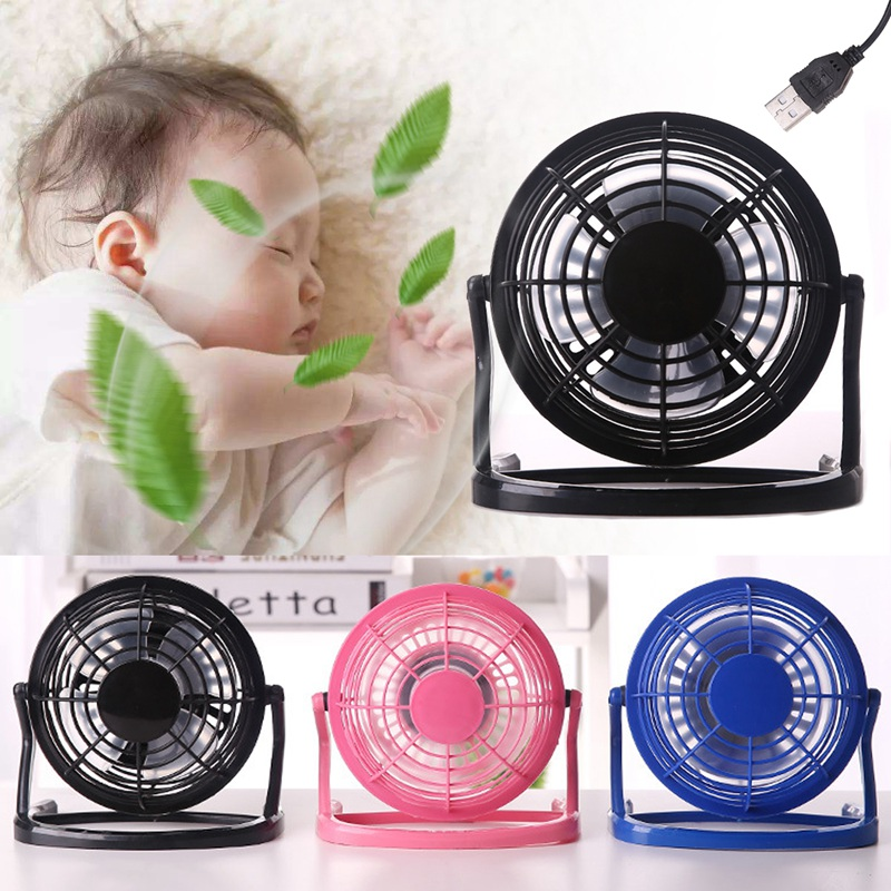 1PC USB Cooling Fan Desk Mini Fan Notebook Laptop Handheldl