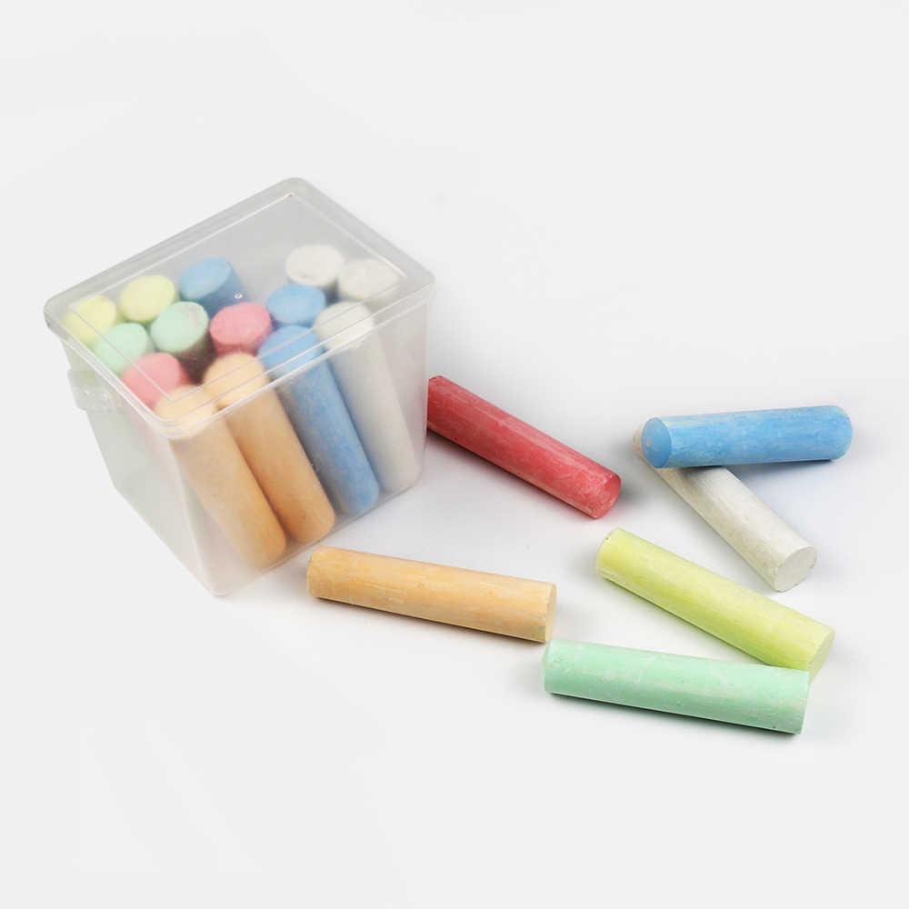 5PC Pavement Jumbo Chalks Covers For Children Non-dirty Hand Plastic Chalk Cover Chalk Clip Kids Paints