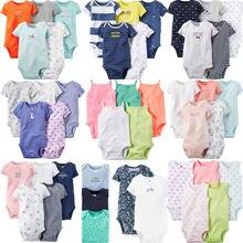 Одежда для новорожденных Детская летняя одежда хлопковые комбинезоны